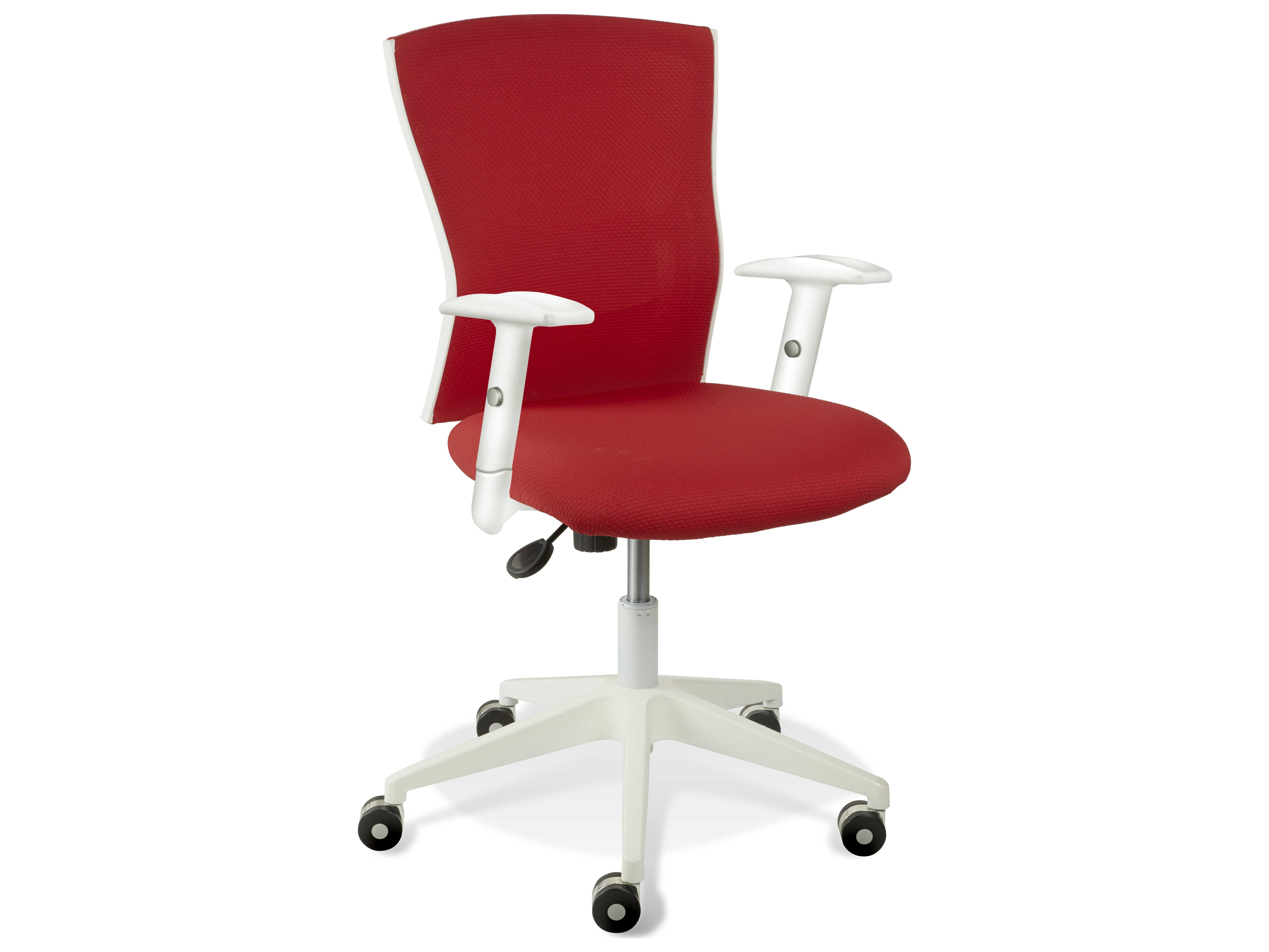 Unique Furniture Sanne Red Arm Office Chair JE53695364