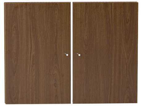 Unique Furniture 100 Series Walnut Doors for Bookcase