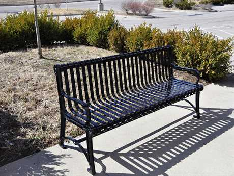 Frog Furnishings Blair Cast Aluminum Bench