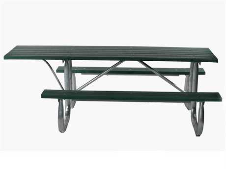 Frog Furnishings Steel Galvanized Frame ADA Table