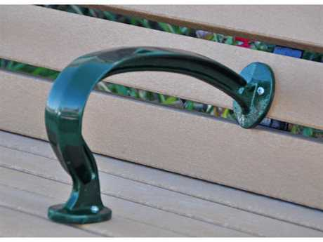 Frog Furnishings Recycled Plastic Green  Heritage Armrest