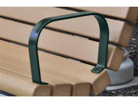 Frog Furnishings Recycled Plastic Green Jameson Armrest