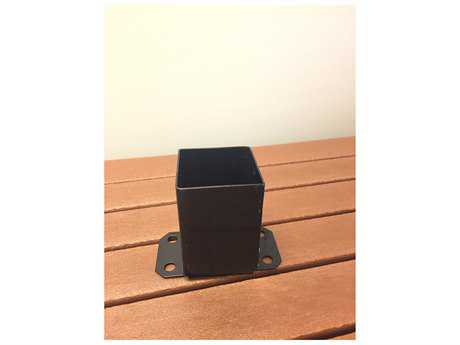 Frog Furnishings Accessories Concrete Black Surface Post Mount