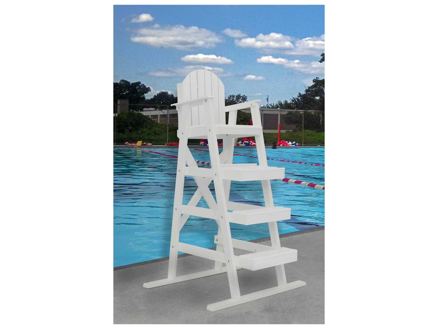 Frog Furnishings Lifeguard Recycled Plastic 42 Chair