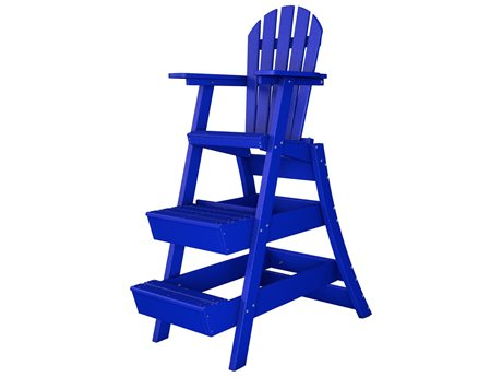 Frog Furnishings Recycled Plastic 46'' Lifeguard Chair