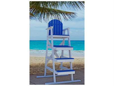 Frog Furnishings Lifeguard Recycled Plastic 62'' Chair