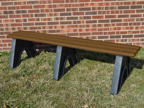 Frog Furnishings Sport Recycled Plastic 6 ft. Bench