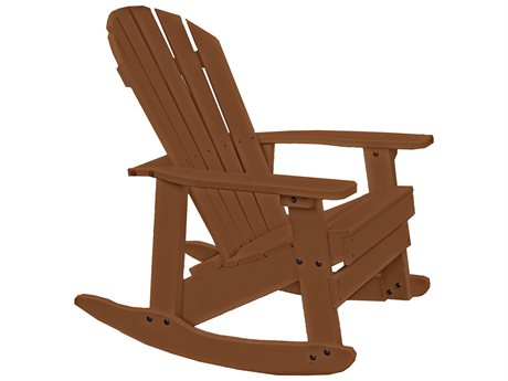 Frog Furnishings Adirondack Recycled Plastic Charleston Rocker Chair
