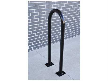 Frog Furnishings Steel 1 Loop Bike Rack Surface