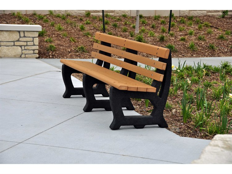 Frog Furnishings Brooklyn  Recycled Plastic Bench