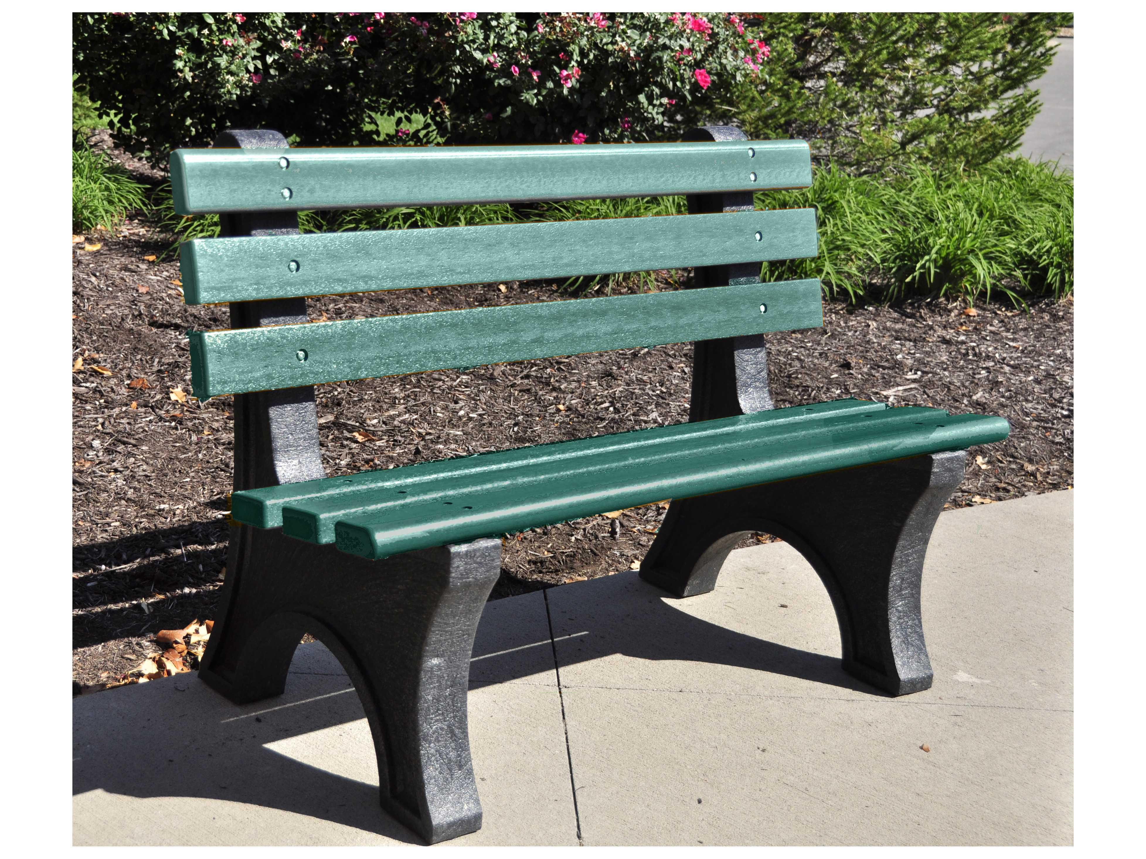 Frog Furnishings Central Park Recycled Plastic Bench Pbcpe