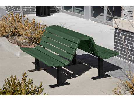 Frog Furnishings Douglas Steel Recycled Plastic Bench