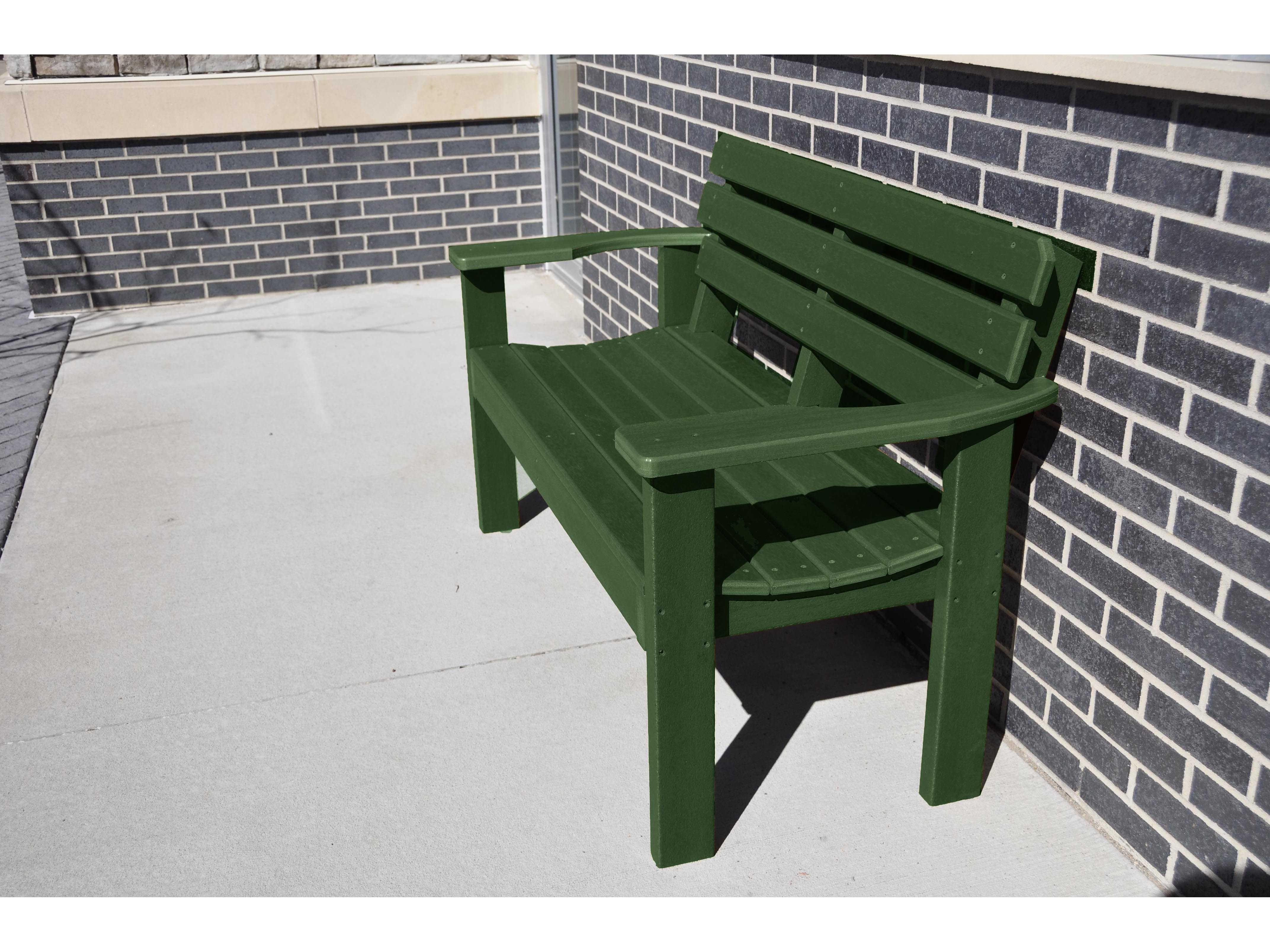 Frog Furnishings Elizabeth Recycled Plastic Bench Jhpbeliz
