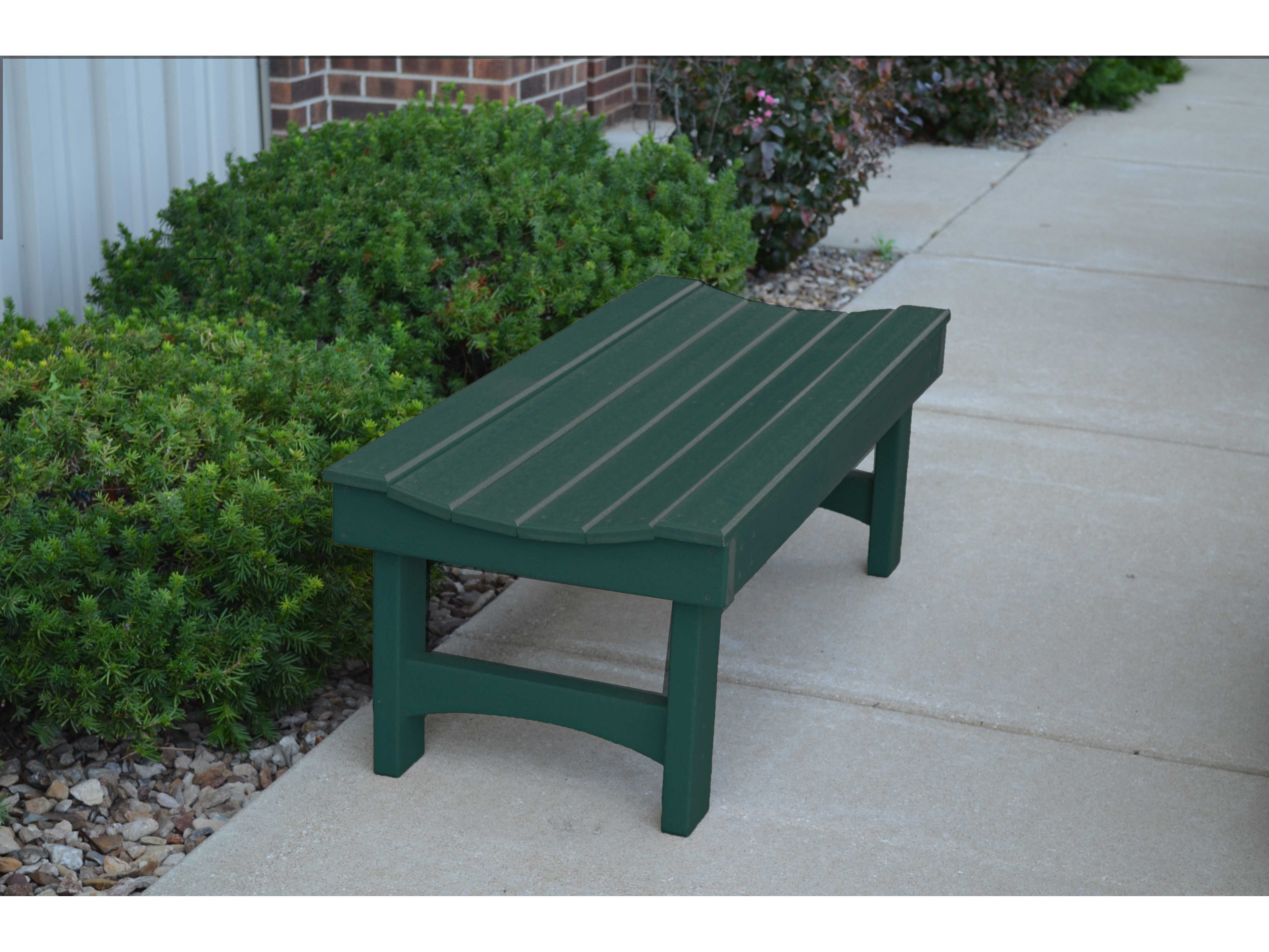 Frog Furnishings Garden Recycled Plastic Bench Pbgar