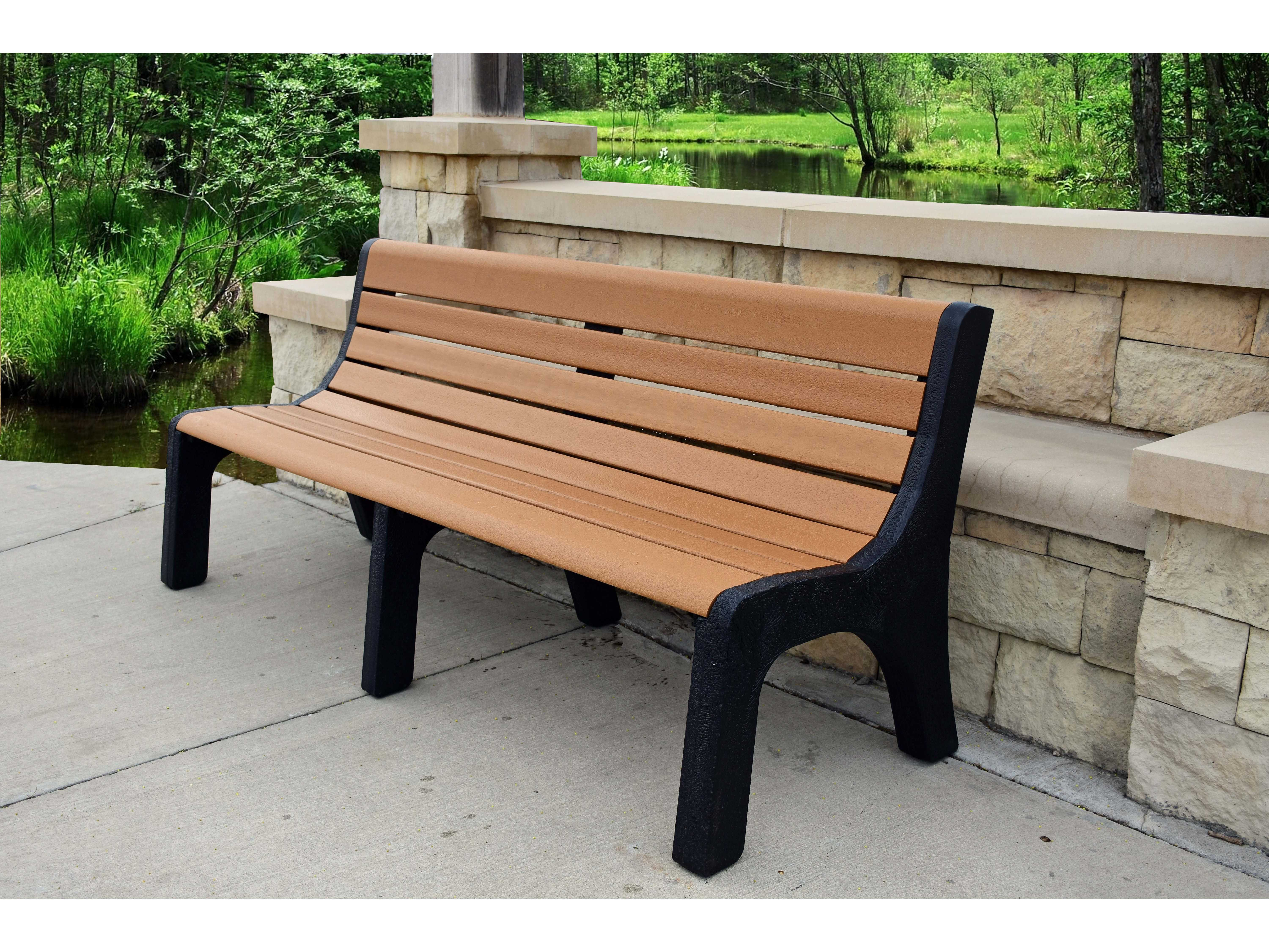 Frog Furnishings Newport Recycled Plastic Bench Pbnew