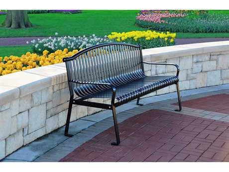 Frog Furnishings Rockford Steel 6 ft. Bench JHPBROCK