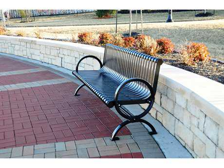 Frog Furnishings Wellington Cast Aluminum 6 ft. Bench