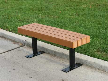 Frog Furnishings Recycled Plastic Trailside Bench