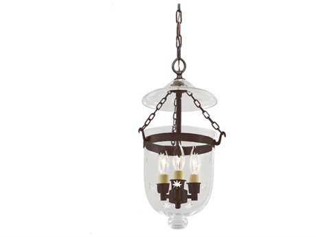 JVI Designs Hundi Three-Light Pendant Light