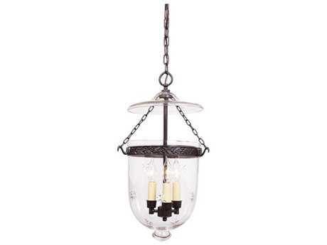 JVI Designs Kensington Three-Light Semi-Flush Mount Light