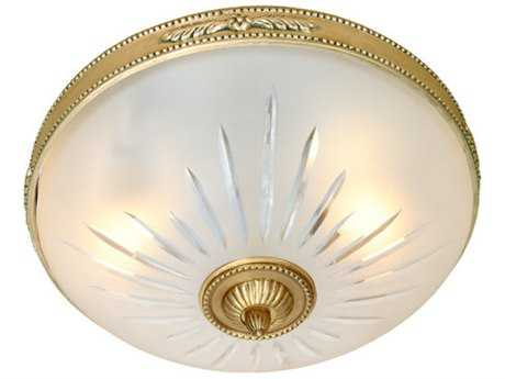 JVI Designs San Clemente Two-Light Flush Mount Light