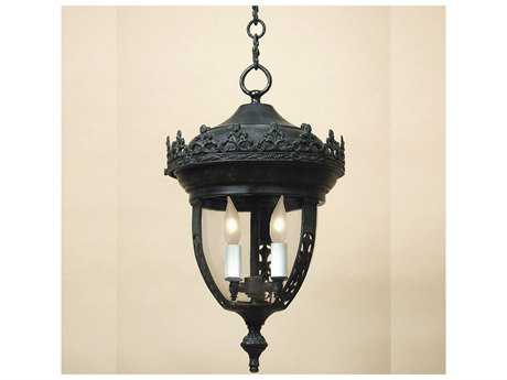 JVI Designs Opera Oil rubbed bronze Three-Light Outdoor Post Mount Light