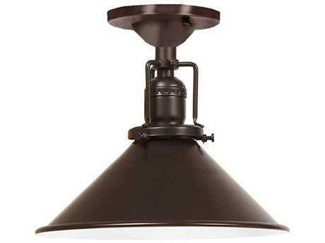 JVI Designs Union Square One-Light Semi-Flush Mount Light