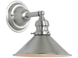JVI Design Union Square Pewter Wall Sconce