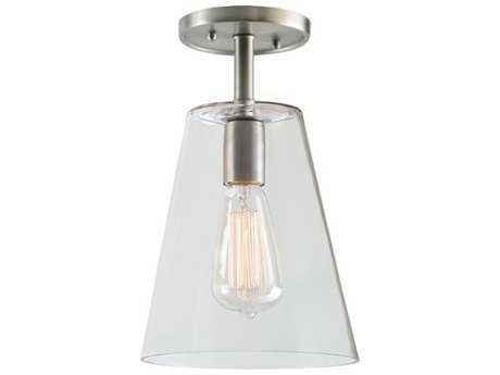 JVI Designs Grand Central One-Light Semi-Flush Mount Light