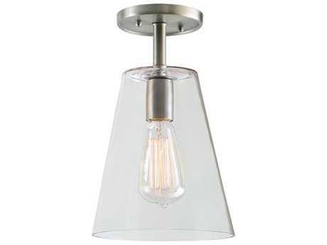 JVI Designs Grand Central One-Light Semi-Flush Mount Light