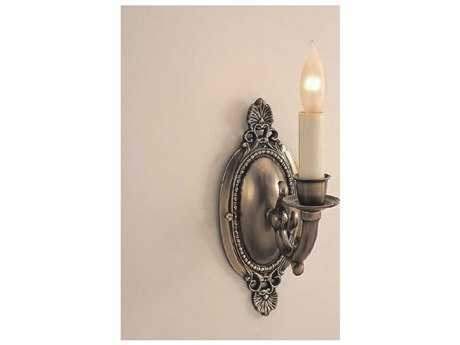 JVI Designs San Clemente Rubbed brass Semi-Flush Wall Sconce