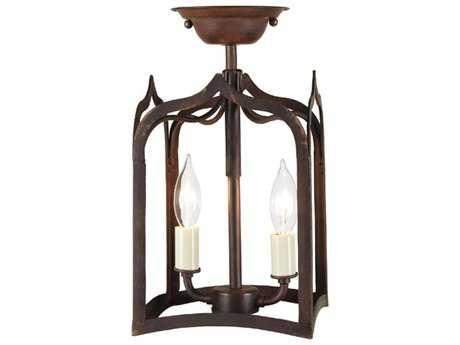 JVI Designs Gothic Two-Light Pendant Light