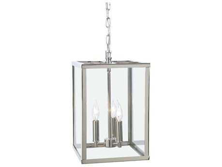 JVI Design Carnegie Polished Nickel Three-Light 16'' Wide Pendant Light