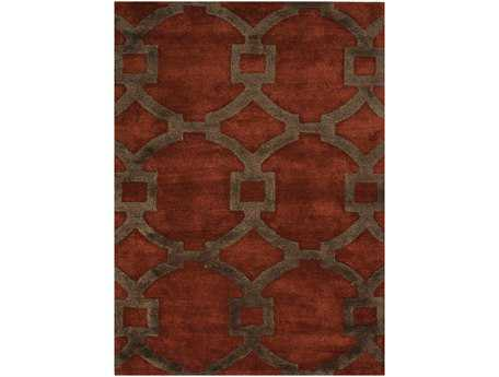 Jaipur Rugs City Regency Rectangular Red Oxide Area Rug