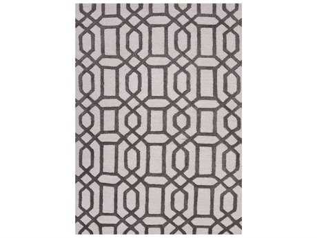Jaipur Rugs City Bellevue Rectangular Light Gray Area Rug