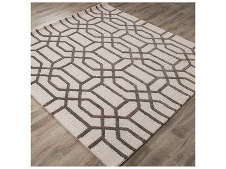 Jaipur Rugs City Bellevue 8' Square Light Gray Area Rug