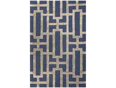 Jaipur Rugs City Dallas Rectangular Deep Navy Area Rug