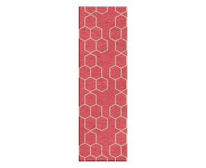 Jaipur Rugs Maroc Abdel Rectangular Tea Rose Runner Rug