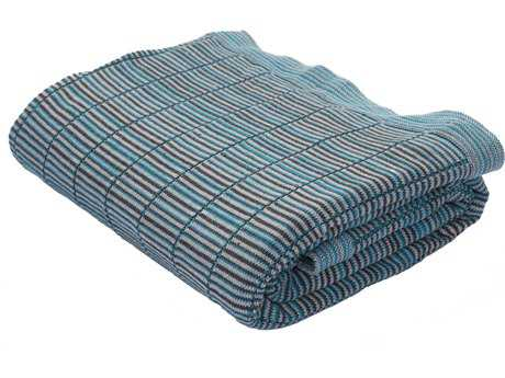 Jaipur Rugs Omaha Caribbean Sea Throw