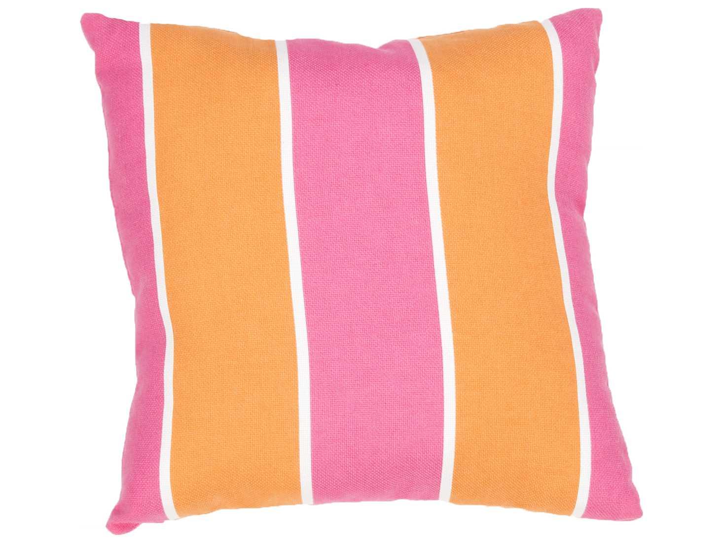 Jeep Throw Pillows : Jaipur Rugs Veranda Blazing Orange Square Pillow JPVER69S