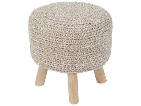 Jaipur Rugs Westport By Rug Republic Montana Stool Pumice Stone Cylindrical Accent Stool