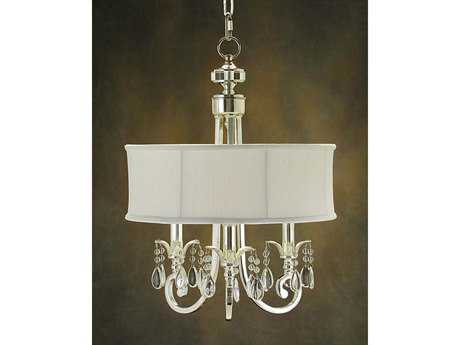 John Richard Oyster Three-Light 17'' Wide Chandelier