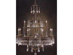 John Richard Augustine Twelve-Light 40'' Wide Grand Chandelier