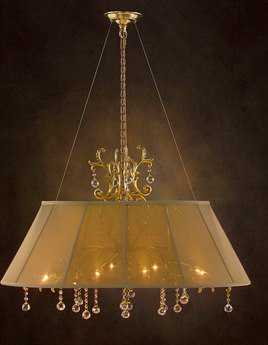 John Richard Candelabra Base 8-Bulb Grand Chandelier