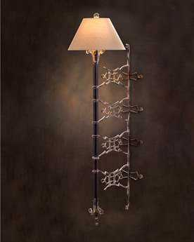 John Richard Scorched Wall Sconce (Right)
