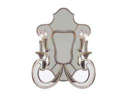 John Richard Aged Silver Two Light Wall Sconce