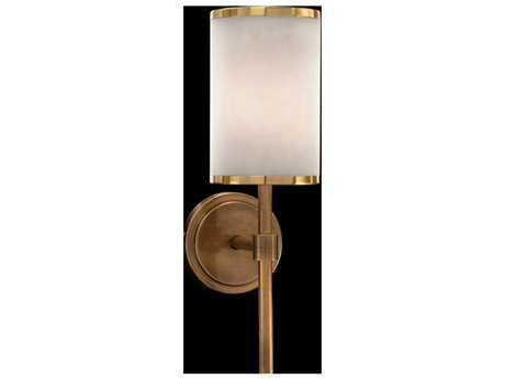 John Richard Modern Brass One-Bulb Wall Sconce