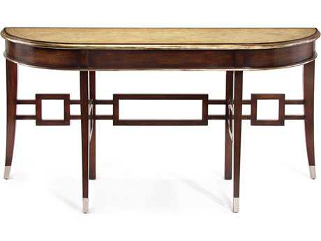 John Richard Tokyo 68 x 18 Demilune Console Table