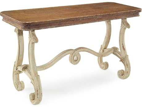 John Richard Lyre Sofa 58 x 21 Rectangular Console Table
