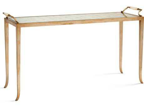 John Richard Eglomise 64 x 20 Rectangular Sofa Table